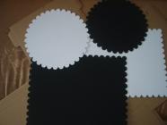 Подложка усиленная ламинир. 300мм, круг., ч/б