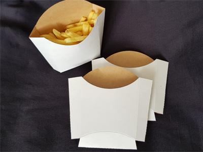 Коробка для картофеля фри