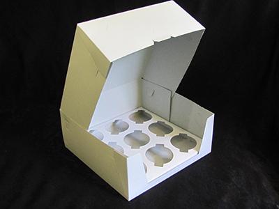 Упаковка 9-капкейков, безпечати