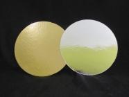 Подложка ламинированная 200мм, круглая толщина 0,8 мм